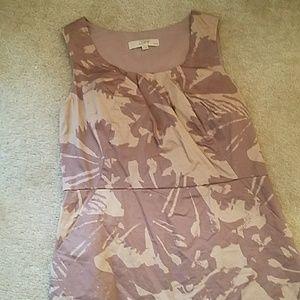 Loft grayish purple dress